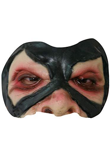 Kostüm Halbmaske Troll (Halloween Troll Gesicht)