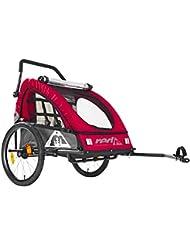 Red Cycling Products PRO Kids BikeTrailer - Remorque vélo - gris/rouge 2018 remorque velo enfant