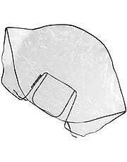 Electomania Waterproof Rain Cover Stroller Rain Cover for Baby Pram Universal Pushchair Transparent Rainproof Cover