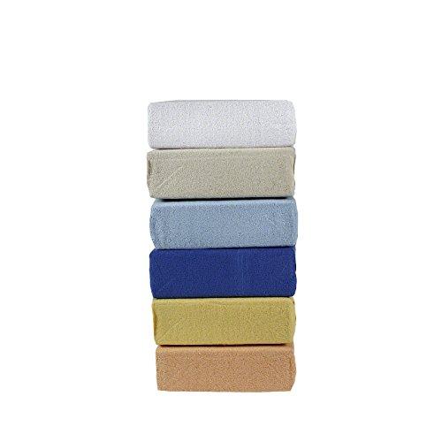 Bettwäscheträume Kinder Soft Fleece Spannbetttuch Spannbettlaken Kinderspannbettlaken 70 x140 cm Gummizug