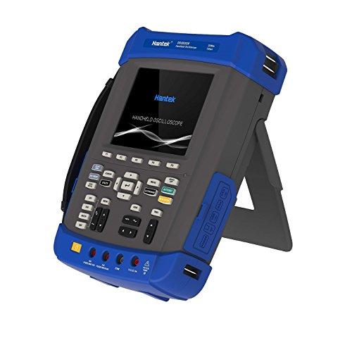 Hantek - Osciloscopio de mano DSO8202E de 200 MHz a 1 GS/s - Generador de forma de onda arbitraria