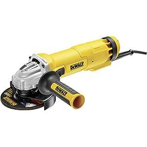 Dewalt DWE4217-QS Mini-amoladora 125 mm 1.200W 11.000 rpm, Negro y amarillo