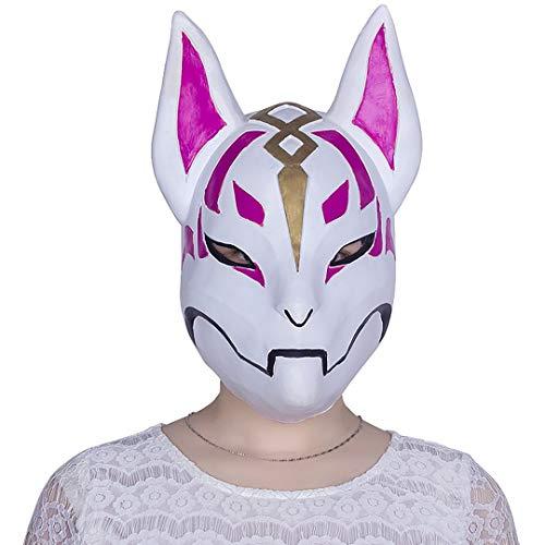 grau.zone Fabelwesen Fuchs als Party-Maske für Halloween Karneval ()