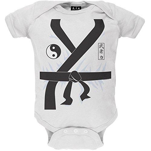 Karate Kid Kostüm Baby One Piece - 0-3 Monate (Baby Karate Kostüm)