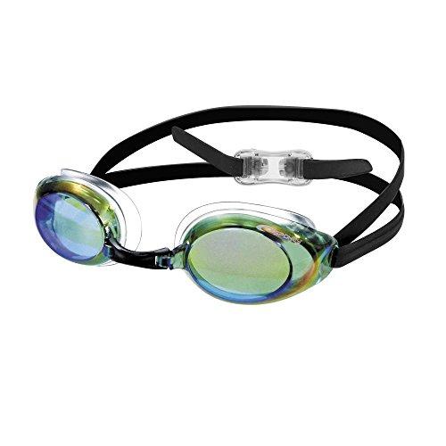 Schwimmbrille, verspiegelte Gläser (Mirror) PROTRAINER grün Spokey