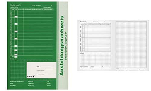 ROTH 96101 Ausbildungsnachweise, gewerblich/technisch, DIN A4