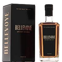 Bellevoye Noir Whisky de France Triple Malt édition tourbée 43° 70 cl - origine géographique : France Métropolitaine - catégorie(s) : Whisky -