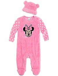 Disney Minnie Babies Babyanzug und Mützchen - pink