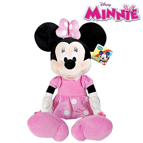 90f8428949c Famosa Softies Peluche Minnie Mouse 80cm Disney Junior - 260003930