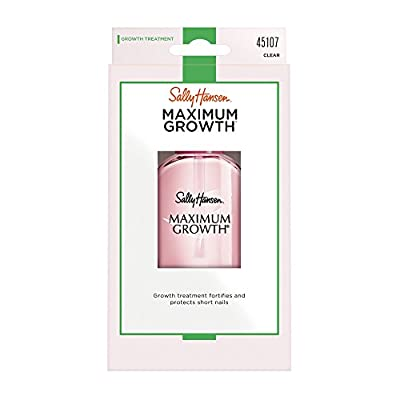 Sally Hansen Maximum Growth Nail Care, 13.3 ml, Packaging May Vary : everything five pounds (or less!)