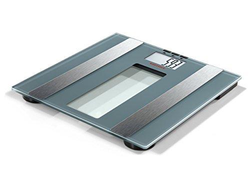 Soehnle 63355 Body Control Easy Use Pèse-personne numérique impédancemètre Plastique Gris 36 x 3,8 x 35 cm
