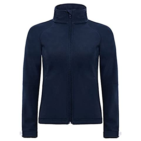 B&C Collection - Sweat à capuche - Moderne - Femme - bleu - 38