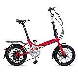 Klappräder 16 Zoll Männer Und Frauen Modelle Leichte Fahrrad Erwachsene Mini Geschwindigkeit Auto Doppelscheibenbremse
