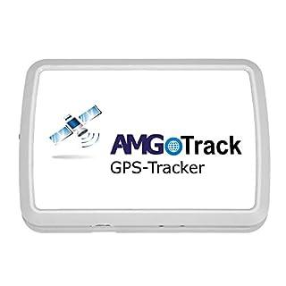 AMG Langzeit GPS Tracker 6 Monate Laufzeit für KFZ Live Ortung (App für iOS Android oder SMS Alarm)