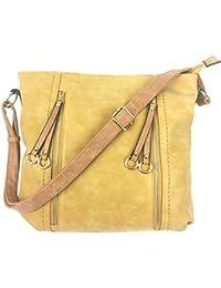 1e65c80844 Designer Handbags for Women MILANO Classic Italian Styled Fashion Shoulder  Bag Slouch in Beautiful Matt Finish Vintage…