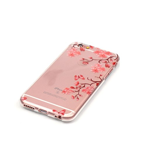 iPhone 6S Plus Custodia Case, Silicone molle TPU iPhone 6s Plus / 6 Plus copertura Cover, Cartoon Modelli di personalità // Tacchi alti // ShockProof Ultra Slim & Pesare leggero # 1