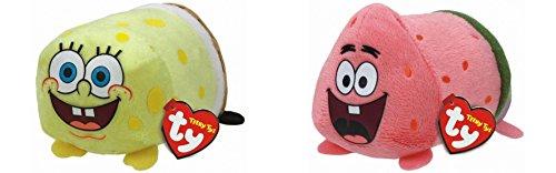 "Teeny Ty SpongeBob SquarePants - SpongeBob and Patrick - 8cm 3"""