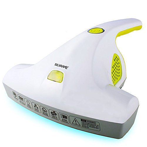 Power Clean UV aspiramaterassi ad azione combinata con raggi ultravioletti! aspira e sterilizza il letto materassi divani cuscini senza sacco con filtro HEPA aspira materassi aspiramaterasso ACB-132
