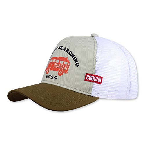 COASTAL Homme Casquette de Camionneur - Keep On (khaki) - Trucker Cap