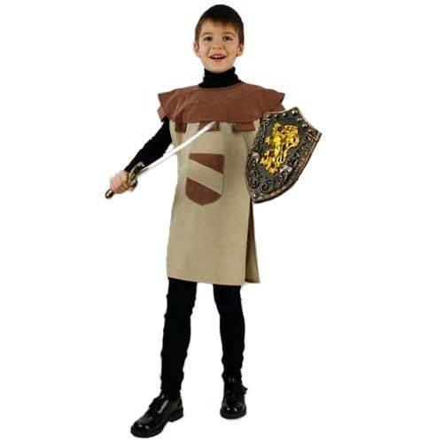 PARTY DISCOUNT Kinder Kostüm Ritter Sigurd, Überwurf, Gr. 128-140
