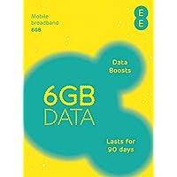EE PAYG Triple SIM Card Preloaded with 6 GB of 4GEE Data
