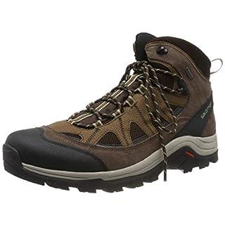 Salomon Men's AUTHENTIC LTR GTX, Trail Running Shoes, Black Coffee/Chocolate Brown/Vintage Kaki, Size 12