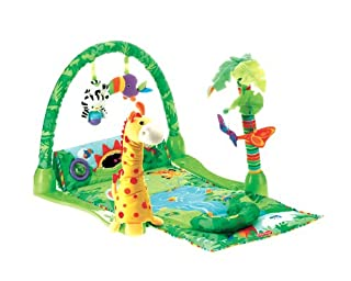 Fisher-Price Rainforest 1-2-3 Musical Gym - Juguetes Musicales (Niño/niña, Multi) (B000JIJPZY) | Amazon price tracker / tracking, Amazon price history charts, Amazon price watches, Amazon price drop alerts