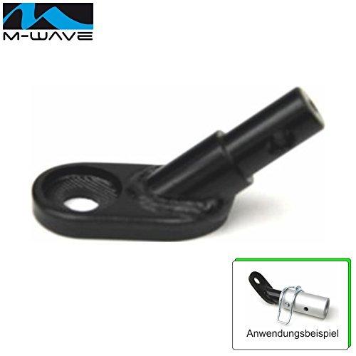 M-Wave Adapter Fahrrad Anhänger Kupplung Fahrradanhängerkupplung