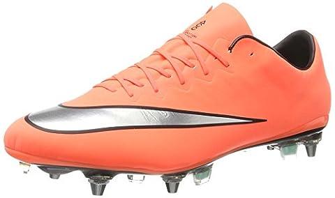 Nike Herren Mercurial Vapor X Sg-Pro Fußballschuhe - Orange (Mehrfarbig) ,47 EU (Mercurial Vapor Ball)