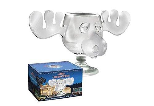 National Lampoon's Christmas Vacation Griswold Moose Mug 8oz Glass -