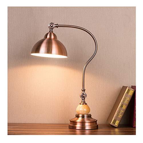 Lampe de bureau Office Eye Caring LED Étude Lampes de lecture Adultes Lampe de travail Chambre Américaine Style Métal