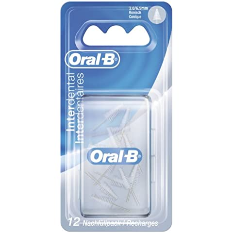 Oral - B - repuesto interdental manual pack cónico, 3 - 6, 5mm, pack de 3 (3 x 12 piezas)