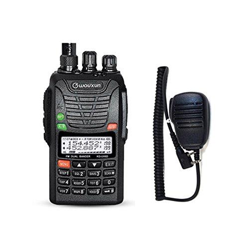 WOUXUN KG-UV6D 4m/2m 66-88/136-174MHz Tragbares BOS Tonruf-I Amateurfunk Dualband PMR-Handfunkgerät Mit Remote Speaker Mikrophon -