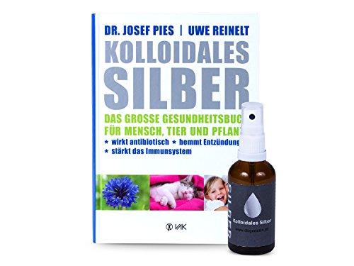 Robert Franz - Kolloidales Silber Spray (50 ml) + Kolloidales Silber-Buch