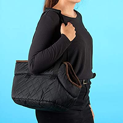 Me & My Pets Black Quilted Carrier from Me & My Pets