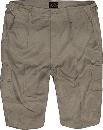 normani US Army Ranger Shorts BDU Cargo Kurze Hose Farbe Khaki Größe 5XL -