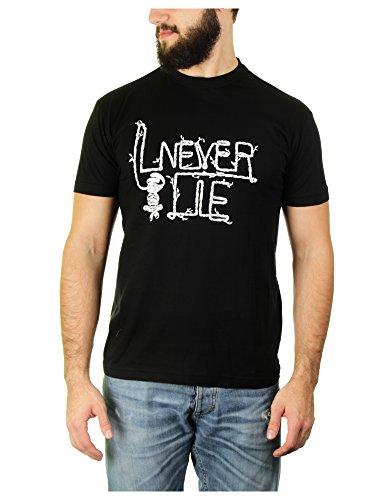 Likoli I Never Lie–Maglietta a maniche corte di una notte da leoni Nero nero
