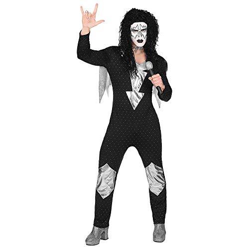 Widmann Erwachsenenkostüm Heavy Metal Rock Star