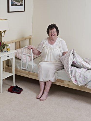 41ARoMzUXnL - NRS Healthcare M76321 - Accesorio de cama para el levantamiento de los enfermos, color blanco
