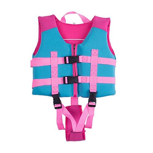 Sundwsports Chaleco de Flotación para Niñas Chaqueta de Entrenamiento para Nadar para Niños Aprenda a Nadar