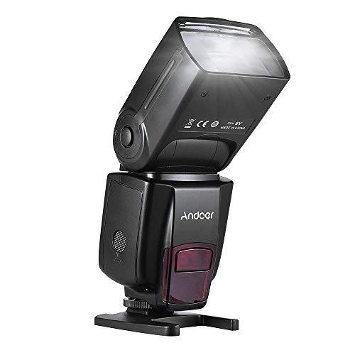Andoer AD560 IV 2.4G Wireless Universal Slave Speedlite Blitzgerät GN50 LCD Display kreativ Photofrafie für Canon Nikon Olympus Pentax für Sony A7 / A7 II / A7S / A7R / A7S II DSLR Kameras 2.4 G Wireless-lcd