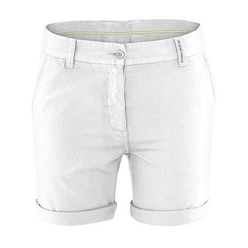 HempAge Damen Shorts Jane aus Hanf/Bio-Baumwolle White