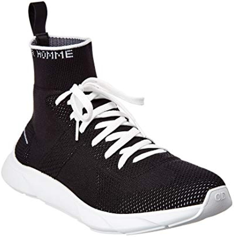Gentiluomo   Signora Christian Dior scarpe scarpe scarpe da ginnastica Uomo Nero Nero Molti stili impeccabile Logistica estrema velocità | Prezzo ottimale  5ae5ae