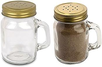 Saanveria Premium Quality Salt & Pepper Shaker Container