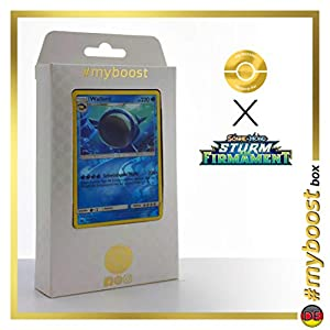 Wailord 40/168 Holo Reverse - #myboost X Sonne & Mond 7 Sturm Am Firmament - Box de 10 Cartas Pokémon Alemán