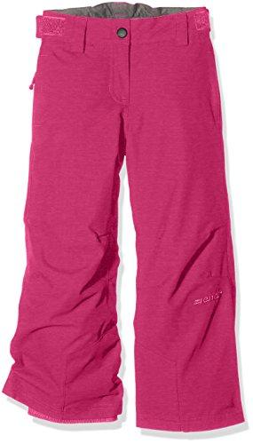 Ziener Kinder Are Pants Ski Skihose, Pink Blossom Rib, 104