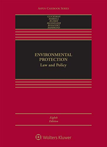 Environmental Protection: Law and Policy (Aspen Casebook Series) (English Edition)