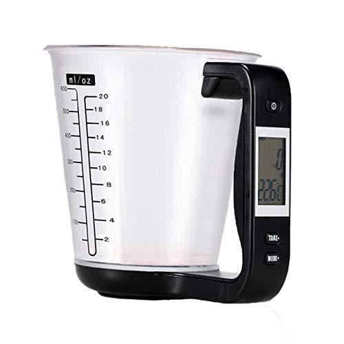 CAIZHAO Báscula Digital Alimentos medición, Pantalla