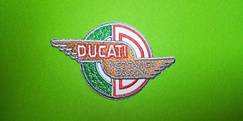 Blue Hawai - Parche termoadhesivo emblema «Ducati»