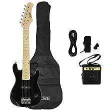 3rd Avenue Junior Electric Guitar Pack - Black